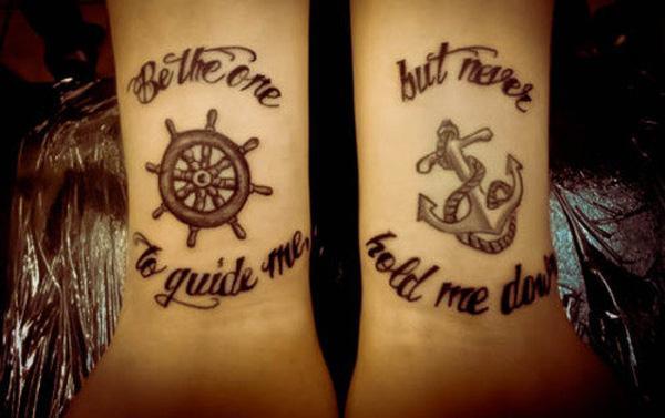 Bow Matching Tattoos
