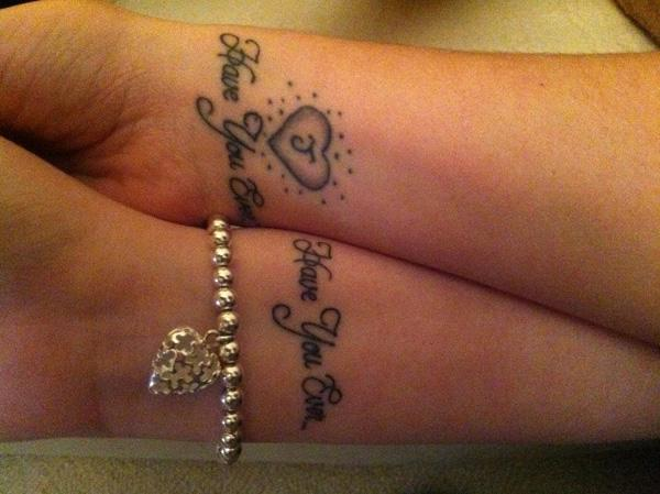 Love Tattoos For Couples Quotes Captivating 70 Lovely Matching Tattoos  Art And Design