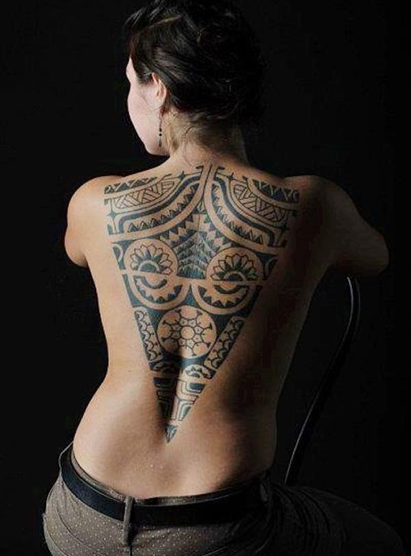 97808628bc281 7 Tribal tattoo for women - 30 Tribal Tattoos for Women ...