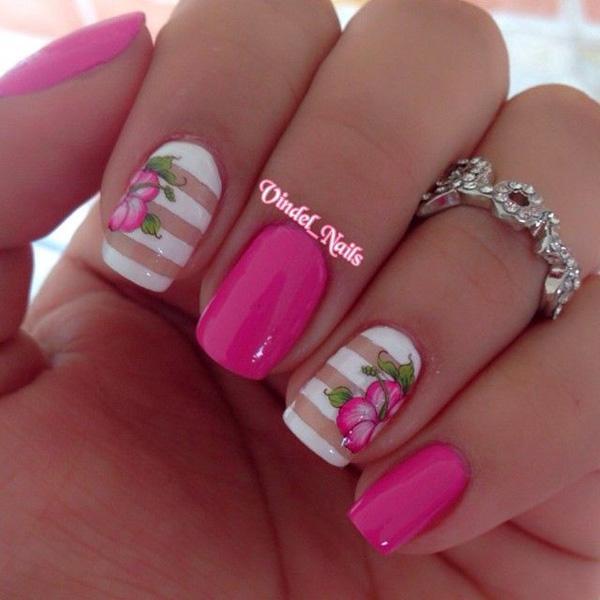50 дизайни на цветни нокти