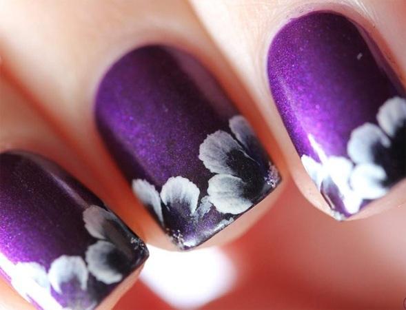 flower-nail-art-for-short-nails | Art and Design