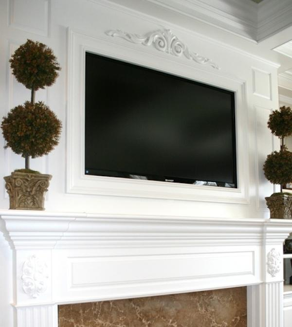 Ways to decorate the mantle above your fireplace art and design