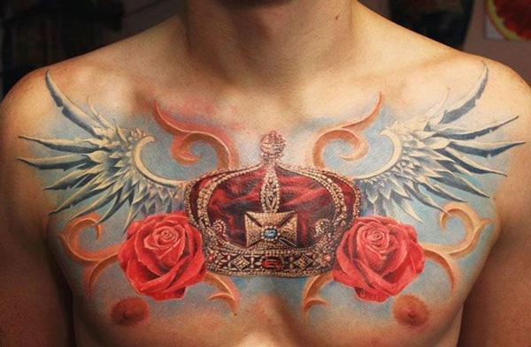 Mehndi Nape Tattoo : Meaningful crown tattoos art and design