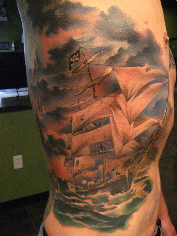 100 Boat Tattoo Designs | Art and Design
