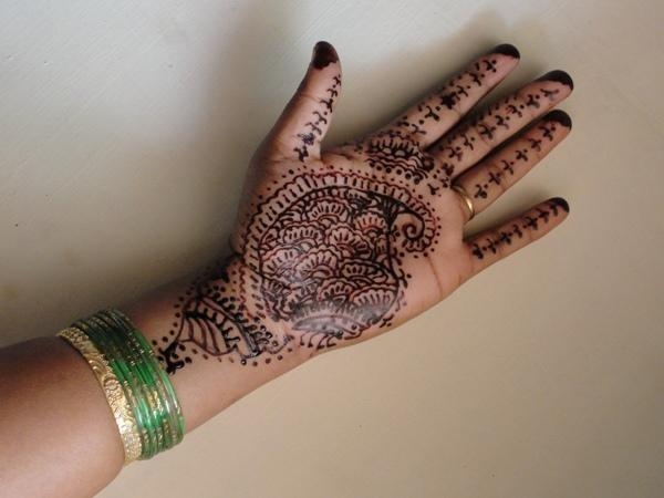 Henna-Tätowierungen