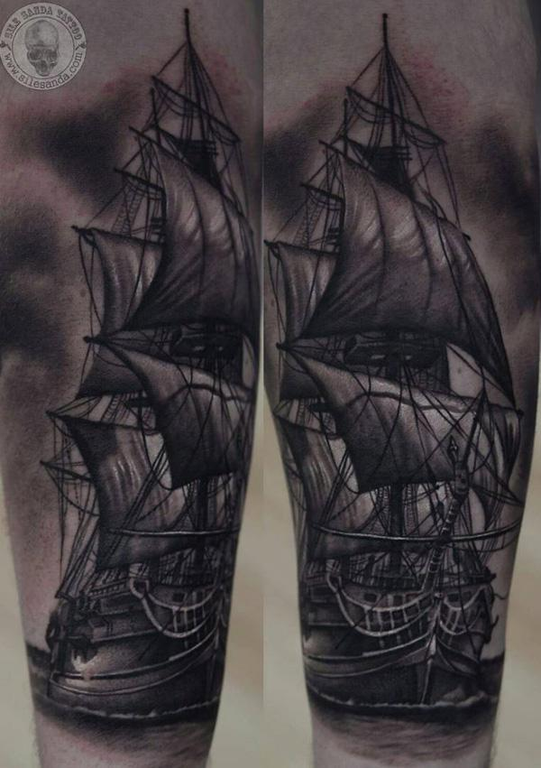 Boat tattoo-100