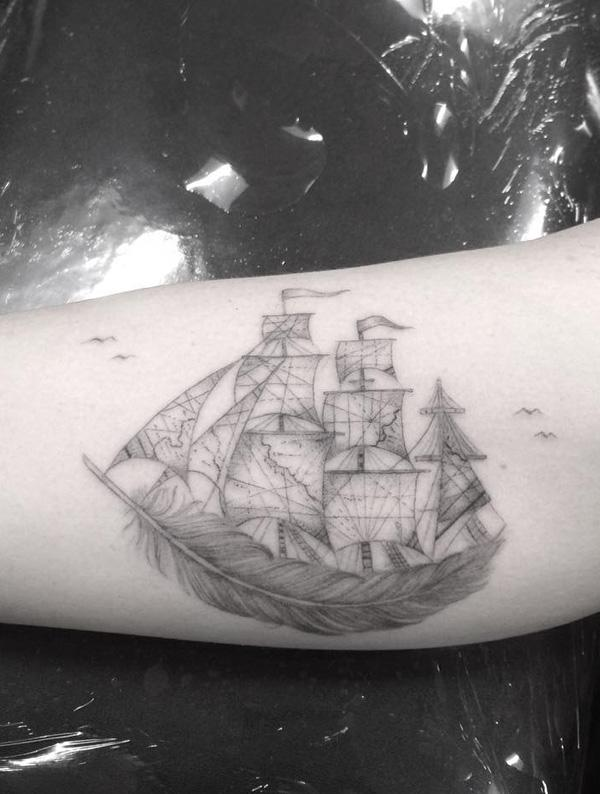 Boat tattoo-59