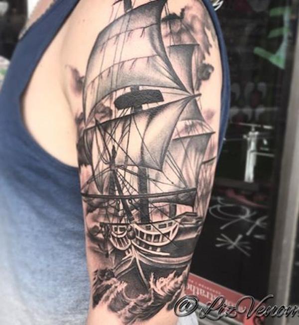 Boat tattoo-66