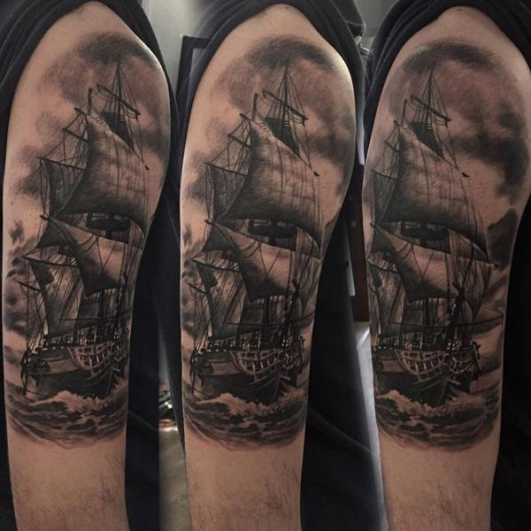 Boat tattoo-72