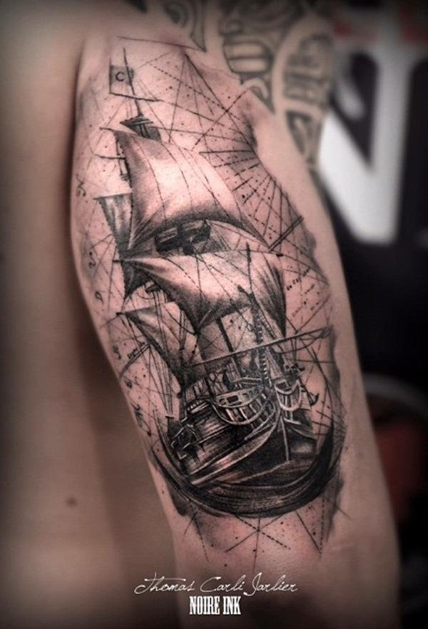 Boat tattoo-84