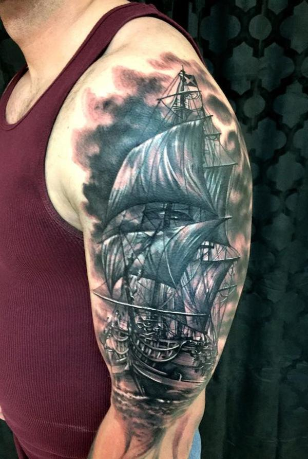 Boat tattoo41
