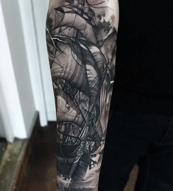 Boat tattoo44