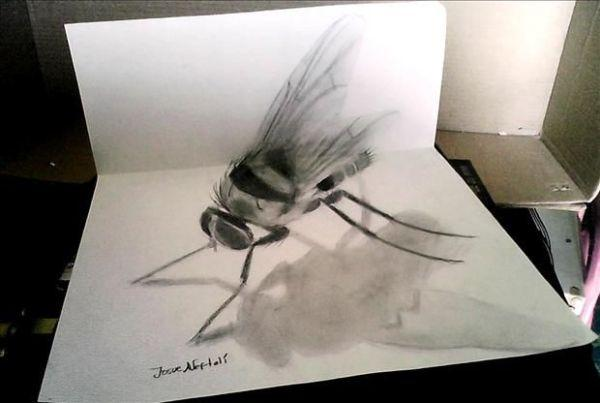 An Insect 3D drawing by Jose A.