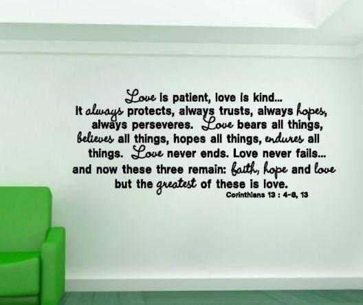 Love Is Patient Love Is Kind Quote Stunning Love Is Patient Love Is Kind  Art And Design