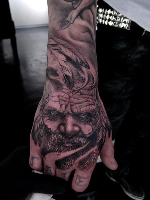 45 eye catching tattoos on hand art and design