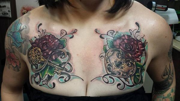 50 Inspiring Lock and Key Tattoos | Art and Design