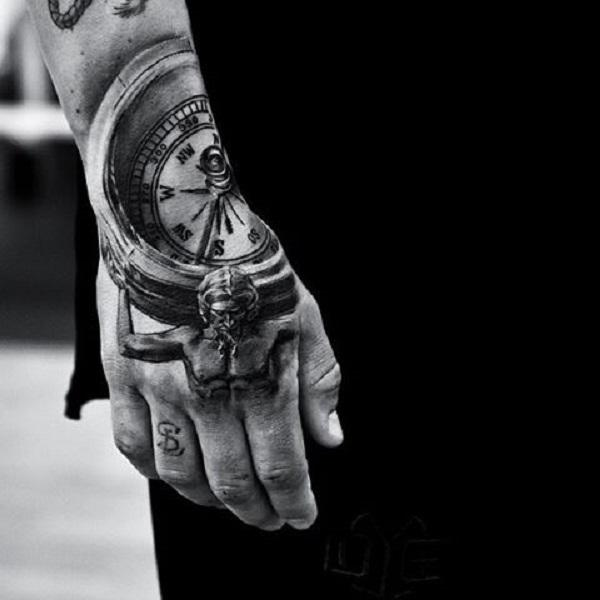 60 Eye Catching Tattoos On Hand Art And Design