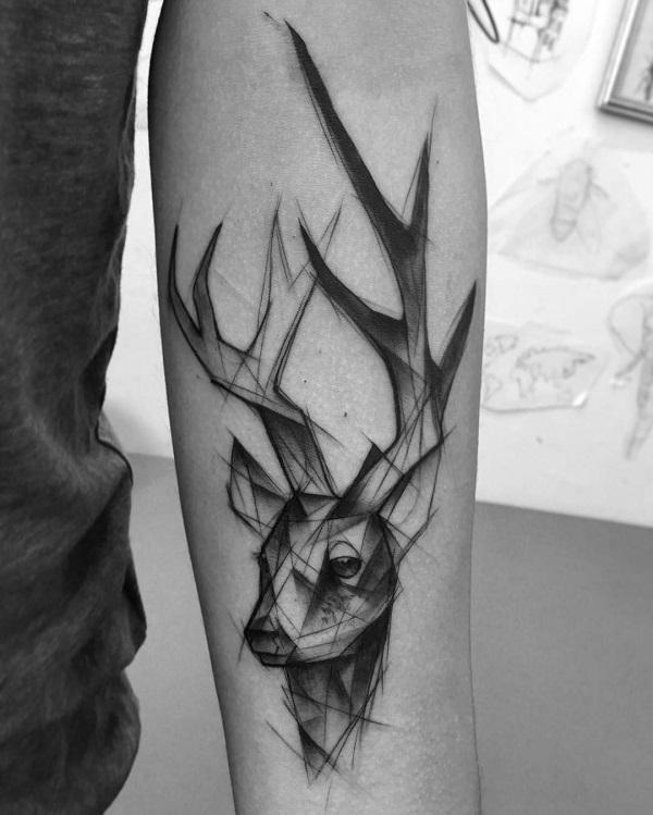 45 Inspiring Deer Tattoo Designs Art And Design