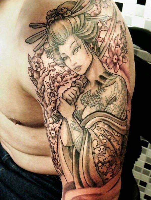 Pictures of geisha girl tattoos, young blonde girls fucking