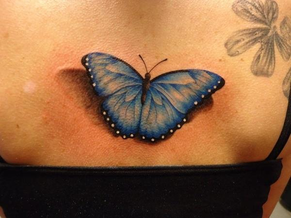 37 3D Butterfly Tattoo