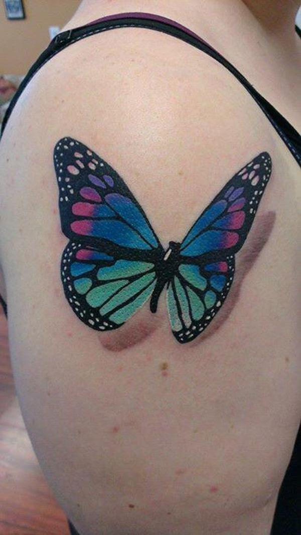40 3D Butterfly Tattoo