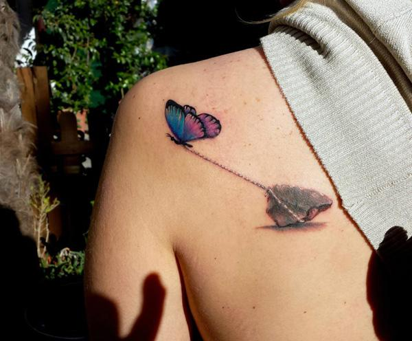 45 Incredible 3d Butterfly Tattoos Art And Design