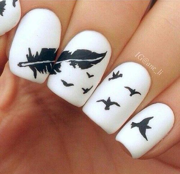 cool nail designs - 70 Cool Nail Designs <3 <3 ... - 70 Cool Nail Designs Art And Design