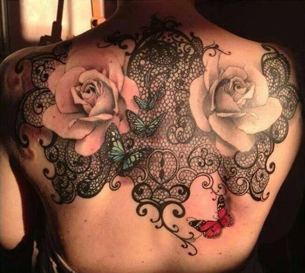 45 lace tattoos for women art and design