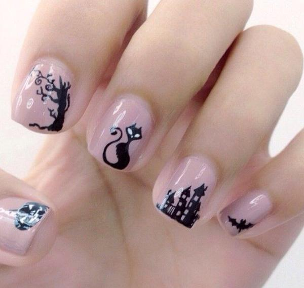 Halloween Nail Art: 1000+ Images About Halloween Nails On Pinterest