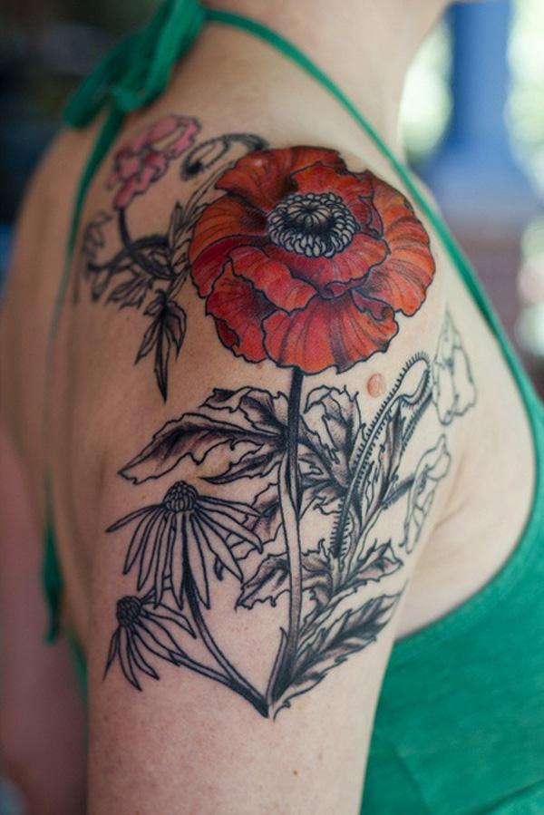 60 Beautiful Poppy Tattoos Art And Design