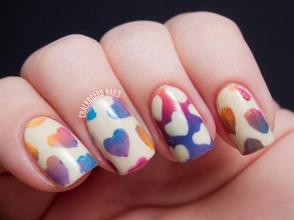 70 Heart Nail Designs Art And Design