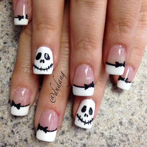 Halloween nail art - 50 Cool Halloween Nail Art Ideas <3 <3 ... - 50 Cool Halloween Nail Art Ideas Art And Design