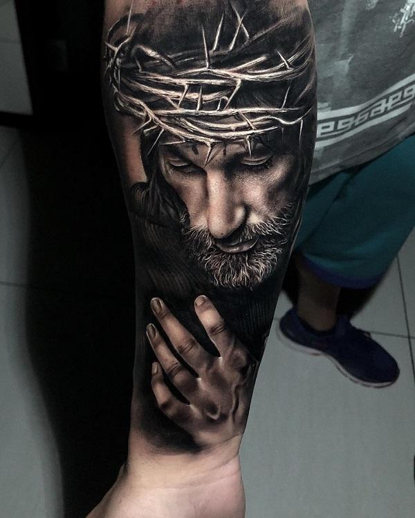 20 Holy Jesus tattoos | Art and Design