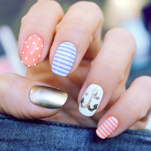 60 Cute Anchor Nail Designs Art And Design