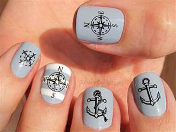 60 Cute Anchor Nail Designs Art And Design