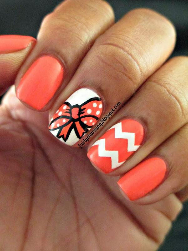50 Cute Bow Nail Designs Art And Design