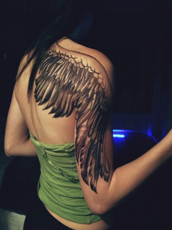 d2af2426a Angel Wing Tattoo - 35 Breathtaking Wings Tattoo Designs <3 <3 ...