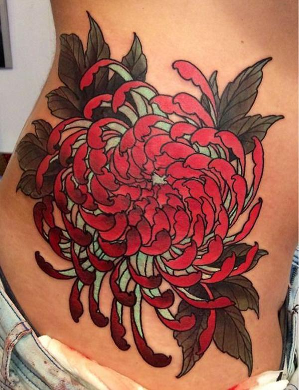 Image Gallery japanese chrysanthemum tattoo