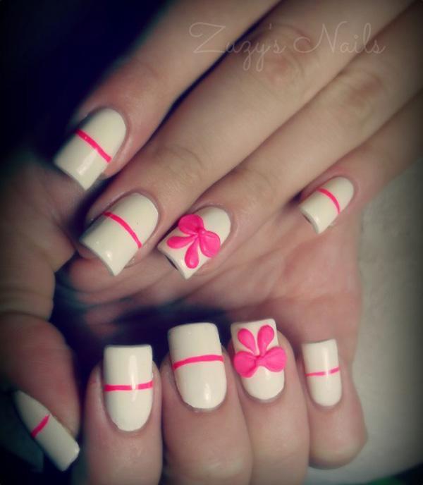 Bow Nail Art - 50+ Cute Bow Nail Designs <3 <3 ... - 50+ Cute Bow Nail Designs Art And Design