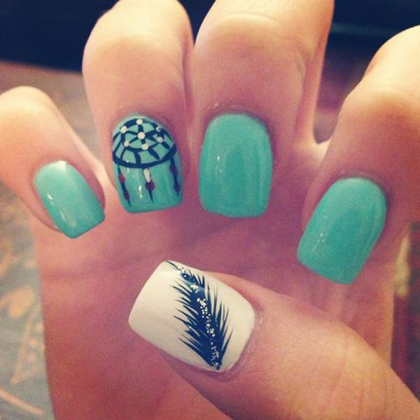 cute acrylic nail designs - photo #40