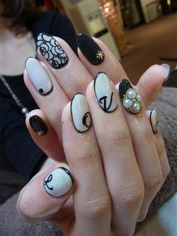 45+ Lace Nail Designs | Art and Design