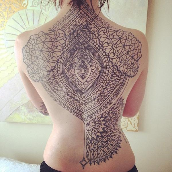 8ed44d58b45cf Geometric tattoos - 40 Intricate Geometric Tattoo Ideas <3 <3 ...