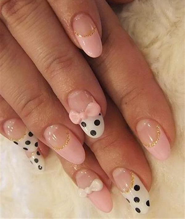 Nail Designs With Bows Moreover Bow Nail Design.  Free Image Nail Art