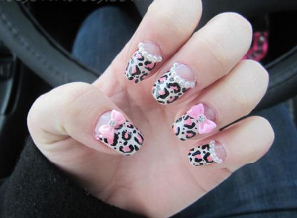 50 cute bow nail designs art and design bow nail art 50 cute bow nail designs 3 3 prinsesfo Image collections