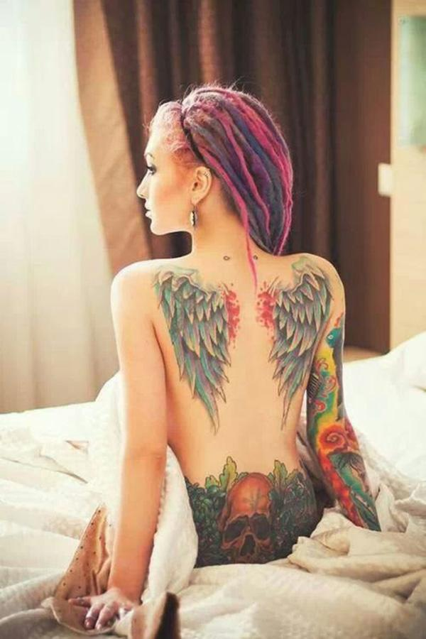 e5963ae7c Wing tattoo - 35 Breathtaking Wings Tattoo Designs <3 <3 ...