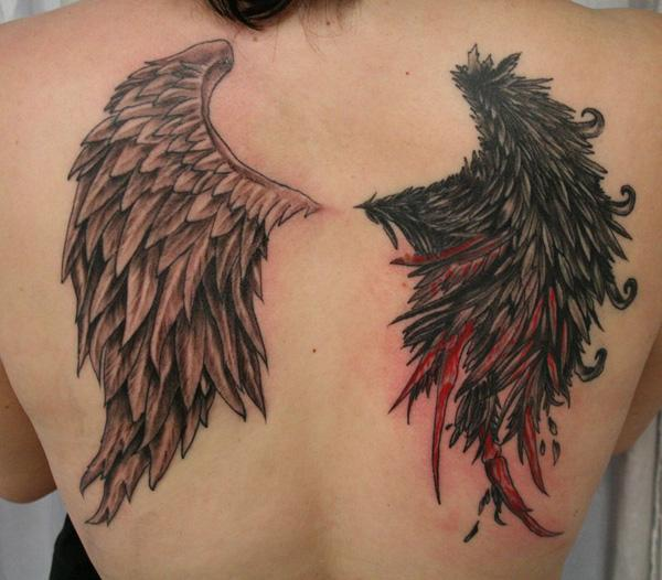 35 breathtaking wings tattoo designs art and design wing tattoo 35 breathtaking wings tattoo designs 3 3 urmus Gallery