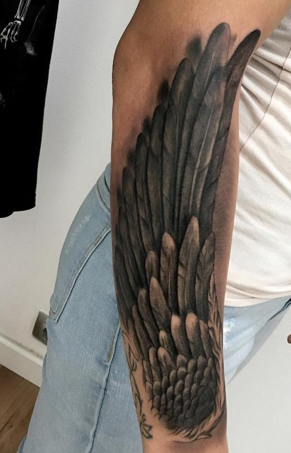 35 Breathtaking Wings Tattoo Designs | Art and Design