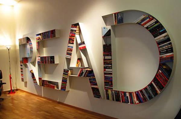 Creative Bookshelf 60 Ideas 3