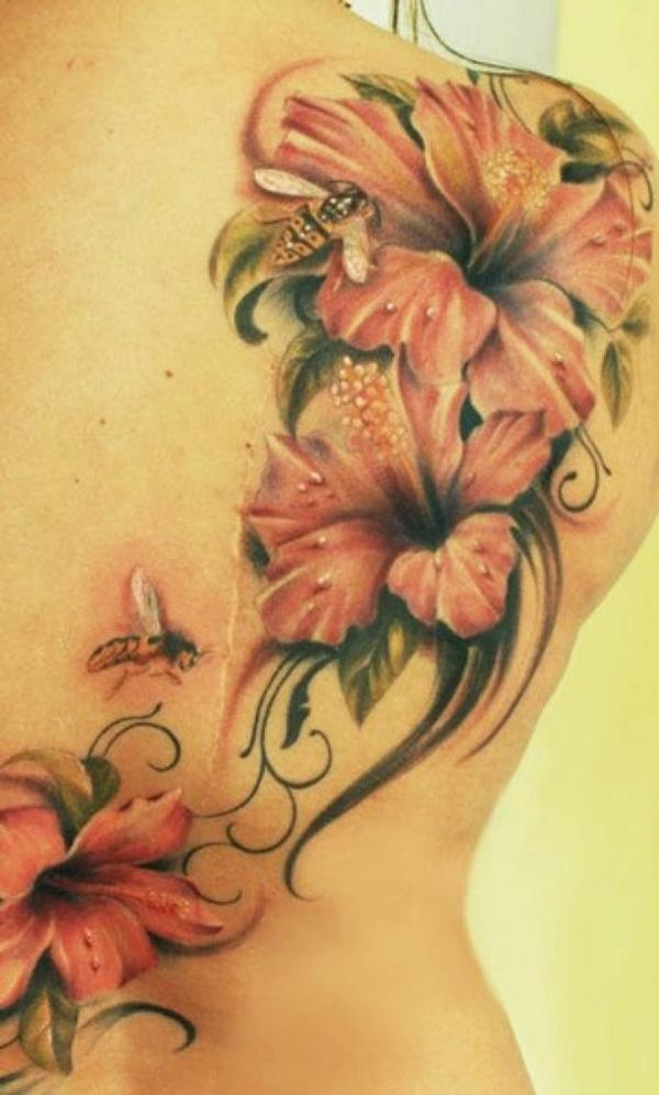 40 magnificent hibiscus flower tattoos and design