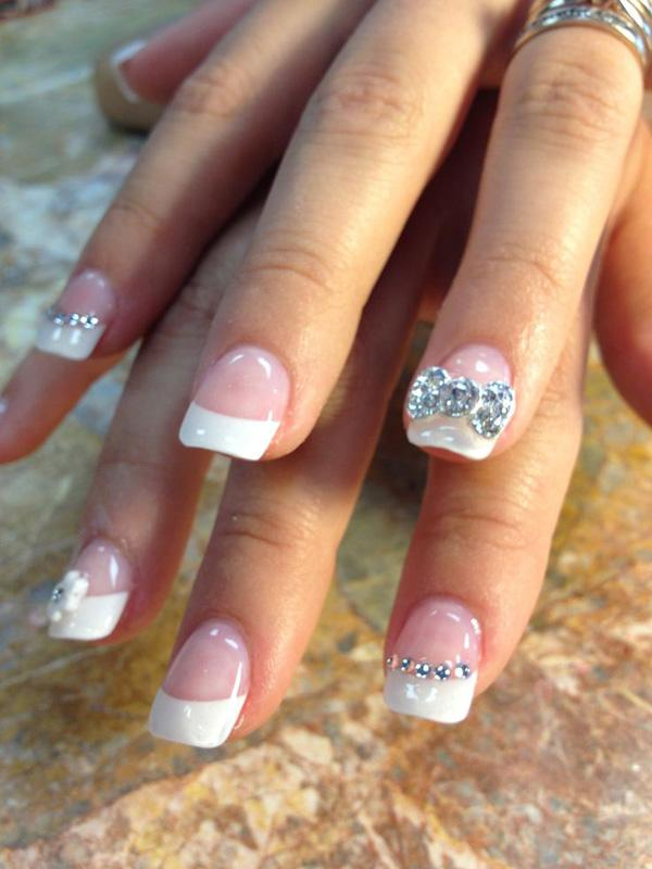 wedding nails 40 ideas for wedding nail designs